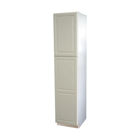 Lowes Canada Pantry Cabinets by Shop Kitchen Classics 84 In H X 18 In W X 23 3 4 In D