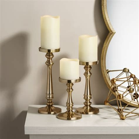 Candle Holders by Lights Decor Candle Holders Pillar Candle