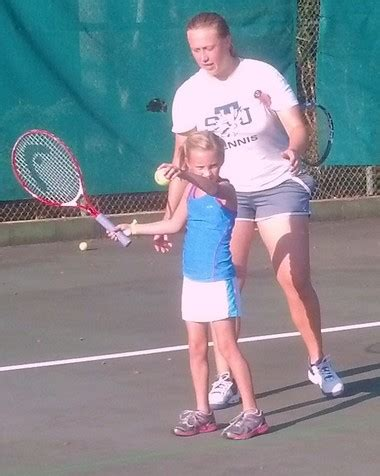 cyo tennis players receive championship instruction