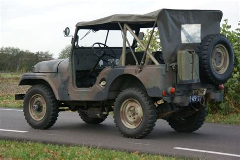 jeep kaiser cj5 kaiser armée jeep cj5 1962