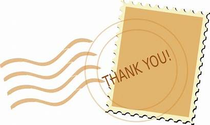Thank Mark Clip Clipart Postmark Postcard Postal