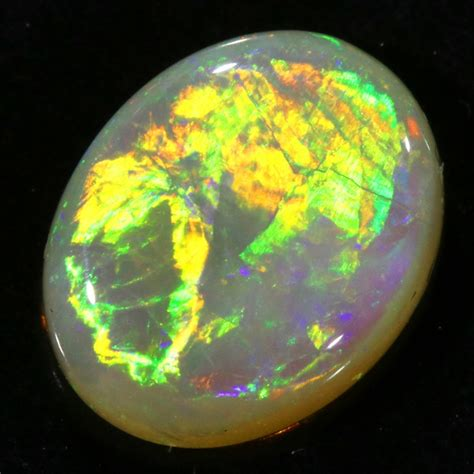1 81cts clean white opal su1363