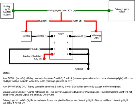 Relay Wiring Diagram Radio by 4x4 Icon Wiring Diagram For Radio Shack Dpdt Relay