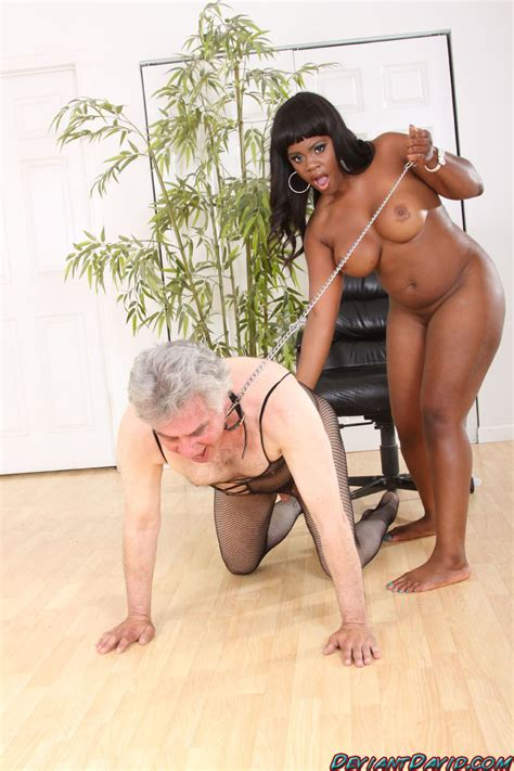 Big Titted Nude Curvy Ebony Domina Plays With Her White