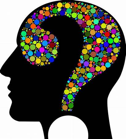 Head Clipart Colorful Human Question Face Circle