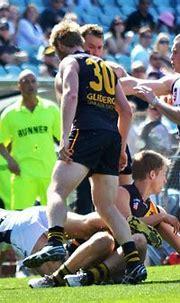Chris Kane Glenelg Tigers South Adelaide Panthers Eliminat ...