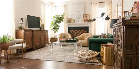 A Gathered Eclectic Living Room Reveal