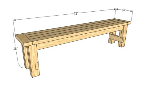 Bench Designs Simple by White Farmhouse Bench Diy Projects