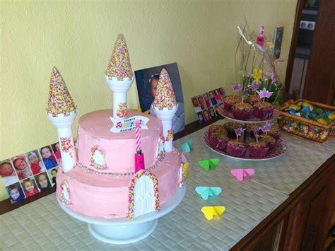 cuisiner sans oeufs gâteau château de princesse sans pâte à sucre pour