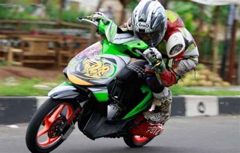 Modifikasi Beat Road Race by 50 Gambar Modifikasi Honda Beat Gaya Road Race Terbaru