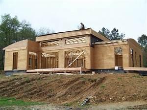 Maison En Bois Construction : barcella construction bois dordogne ~ Melissatoandfro.com Idées de Décoration