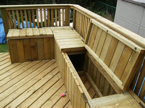Deck Bench Seating On Pinterest  Deck Benches, Deck