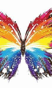 Galaxy, Butterfly, Wallpaper