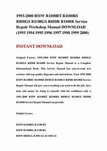 Bmw R1100r Owners Manual Download