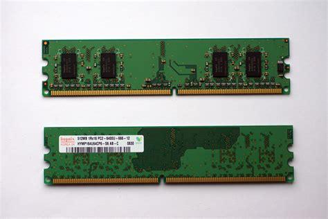 Hynix Pc Ram Memory Modules 512mb 1rx16 Pc2-6400u-666-12 Ddr2