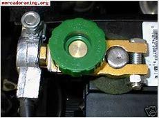Desconectador bateríacortacorrientes