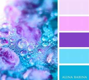 Light Blue and Purple Colour Palette | цвет | Pinterest ...