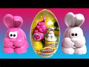 Play-Doh Easter Surprise Eggs