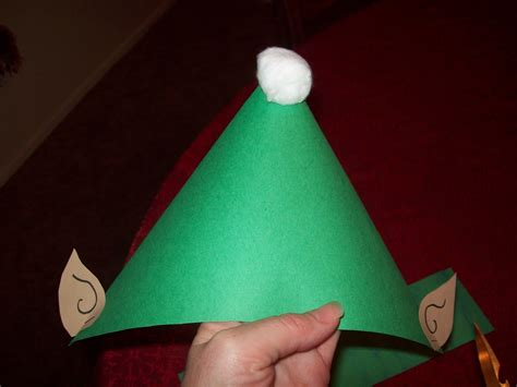 construction paper elf hat pattern search results