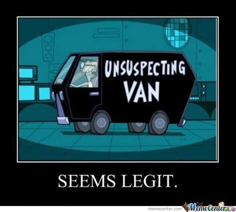 Van Meme - unsespecting van by cup meme center