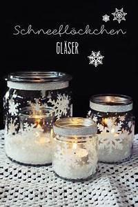 Gläser Verzieren Basteln : die besten 25 weihnachtsdeko glas ideen auf pinterest ~ Lizthompson.info Haus und Dekorationen