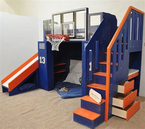 cool  productive bunk bed ideas bored art