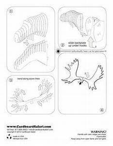 1000 images about cardboard animals on pinterest arnhem With free cardboard taxidermy templates