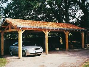 Garages En Bois Ou Carport Pour Les Voitures 12 Tout