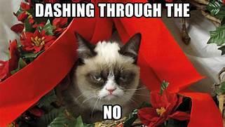 Grumpy Cat Christmas  ...