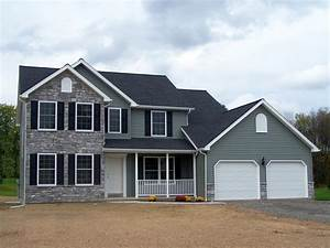 Central PA and Southern New York Two Story Home Plan