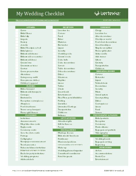 checklist templates create printable checklists  excel