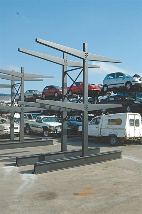 Cantilever Car by Cantilever Racking Pandae Storage