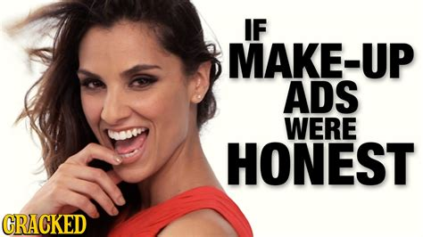 If Make-up Ads Were Honest