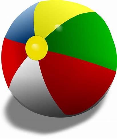 Ball Beach Clipart Clip Remix Balls Vector