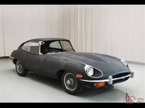 auto jaguar fantastic jaguar e type 1969 4 2l fhc fantastic rust free project