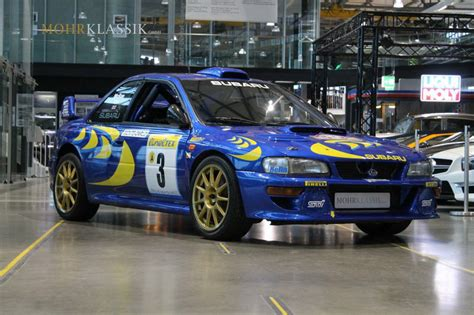 subaru wrc colin mcrae s 1997 subaru impreza wrc is up for sale