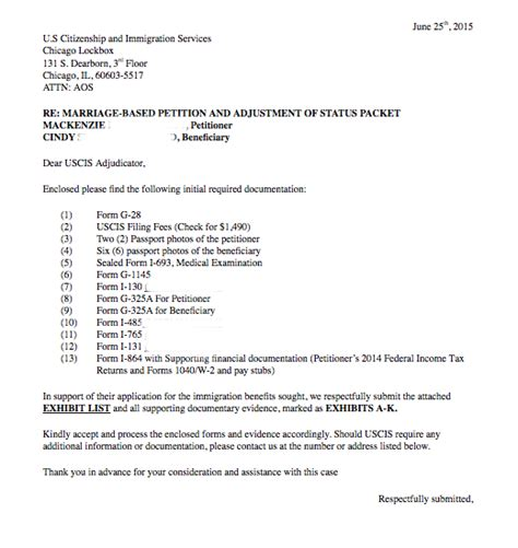 immigration form for siblings uscis letter of recommendation sle cover letter