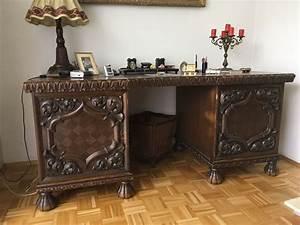Schreibtisch Mit Stuhl : antik sehr seltener schreibtisch mit stuhl eiche ~ A.2002-acura-tl-radio.info Haus und Dekorationen