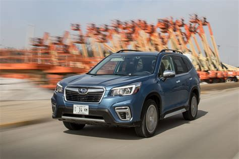 subaru forester mpg  real world testing results