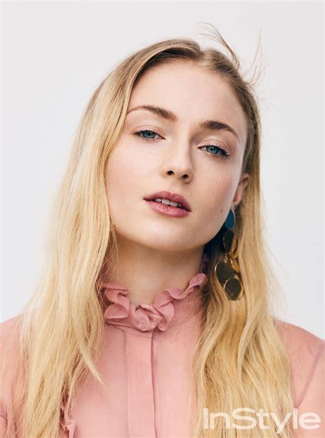 Sophie Turner - InStyle May 2017 Photos • CelebMafia