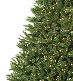 balsam fir artificial christmas tree classics collection
