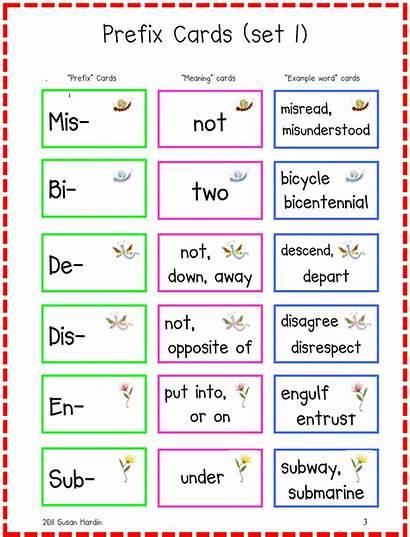 Prefixes Powerful Grade 3rd Word December Prefix