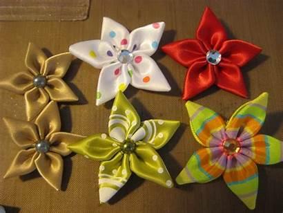Ribbon Flowers Tutorial Designs Flower Making Diy