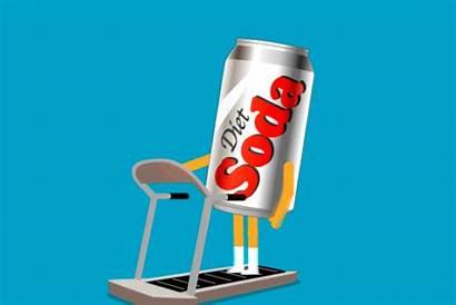 Soda Diet Drink Bad Illustration Tweeten Lon