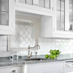 Tile Borders For Kitchen Backsplash Finishing Touches Framed Focal Point All About Ceramic Subway Tile This House