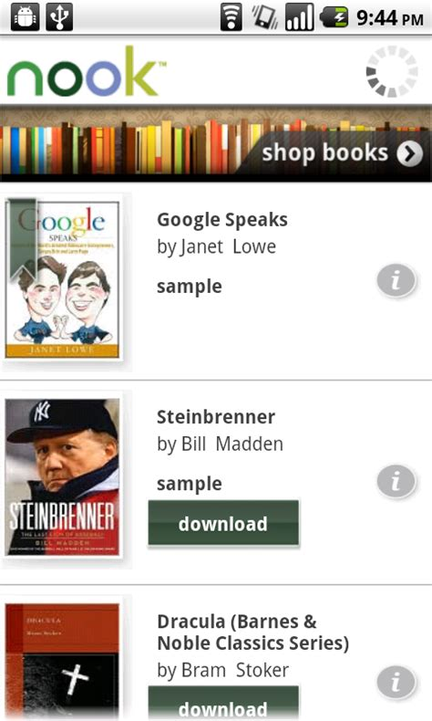 nook app for android review nook for android ereader app android app