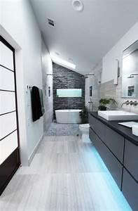 chambres sous combles fabulous prfrence awesome With peinture salle de bain gris perle