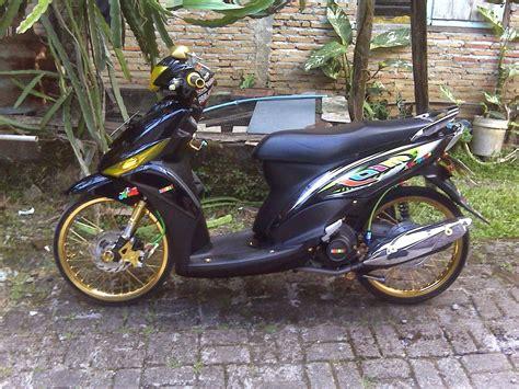 Foto Modifikasi Motor Mio J by 80 Gambar Modifikasi Yamaha Mio Gaya Thailook Terbaru