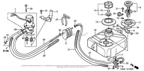 honda ht3813 sa lawn tractor jpn vin ht3813 5000001 to ht3813 5099999 parts diagram for fuel