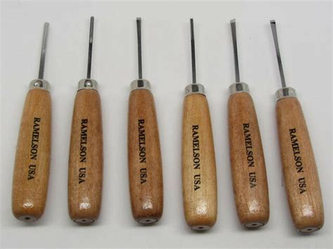 ramelson wood carving chisels tool set pc woodworking